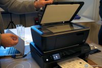 drukarka w kolorze czarnym